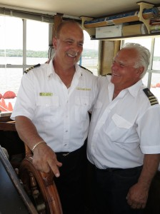 Captains Frank and Duke