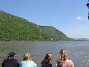 View south on the Hudson River