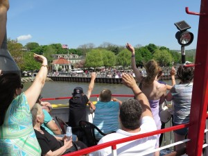 Waving hello to Cold Spring