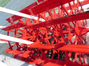 The paddle wheel